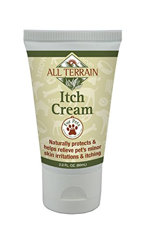 All Terrain Paraben-Free, Safe & Effective Pet Itch Cream, 2oz, Colloidal Oatmeal Based, Help Soothe & Relieve Itchy, Irritated Skin & Paws