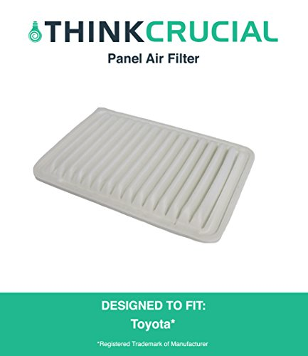 """Replacement for Toyota Panel Vehicle Air Filter, Maximum Air Flow, 1.86"""" x 7.92"""" x 11.54"""" in., Compatible With Part # A35649 & CA10171, by Think Crucial"""