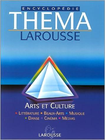Livres gratuits Thema, tome 4 : Arts et culture pdf epub