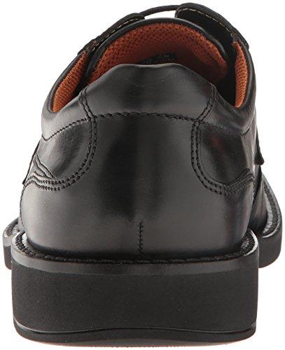 Zapatillas Derby Con Puntera En Punta Para Hombre Ecco Black / Black De Seattle