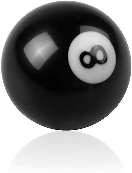 Lacyie 8 Bola Billar Billar Pool Shift Perilla Cabeza de Engranaje ...