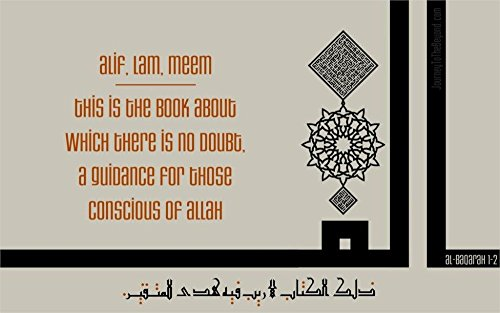 Unknown Travel Quran Islam calligraphy kufic worship Silk Poster wall decor