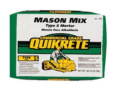 SAKRETE OF NORTH AMERICA 113680 80 lb Type S Mason Mix