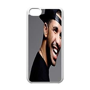 Xinta Custom Designer Personalized Cool Drake TPU Cover Case for iphone 5C XITA3719998