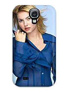 Forever Collectibles Elisa Cuthbert Bue Dress Blue Studio Light Actress Inn Movies Conflict Cat Tale Game Captivity Quiet People Women Hard Snap-on Galaxy S4 Case