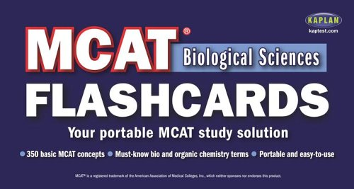 MCAT Biological Sciences Flashcards (Flip-O-Matic)