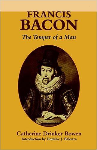The Temper of a Man Francis Bacon