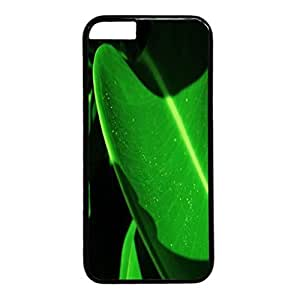 Sunset Personalized Design Black PC Case for Iphone 6 Green