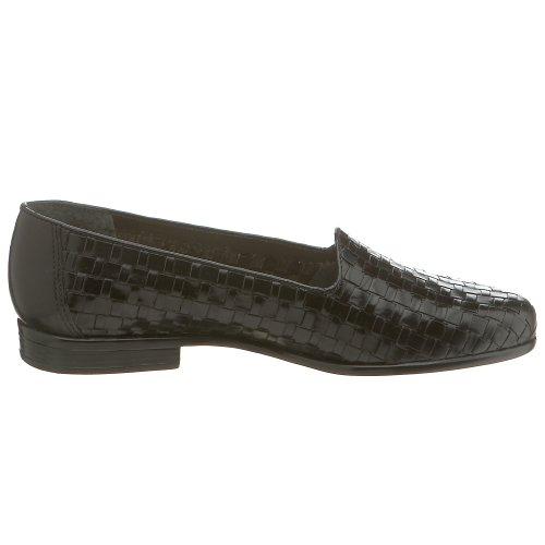 Trotters Liz de la mujer loafer negro