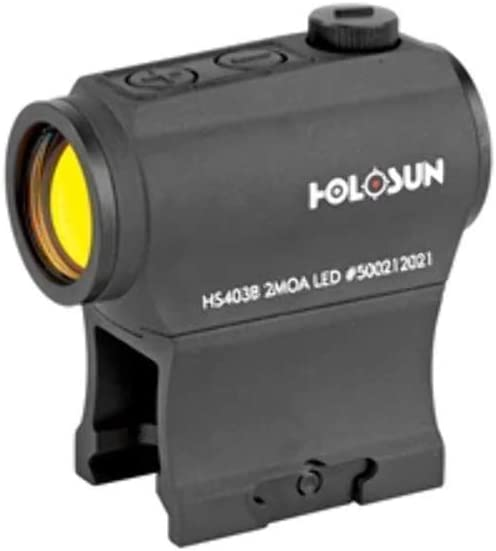 Holosun HS403B Micro Red Dot Optic (2 MOA),Black
