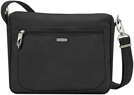 Travelon Travelon Anti Theft Cross Body Bag, Two Pocket from Amazon | Real Simple