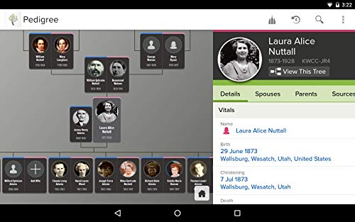 Amazon Com Familysearch Tree Appstore For Android