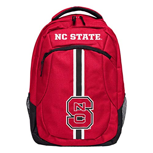(FOCO NCAA North Carolina State Wolfpack Action BackpackAction Backpack, Team Color, One Size)