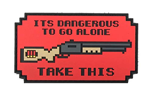 - Patriot Patch Co - It's Dangerous to Go Alone Patch (Shotgun)