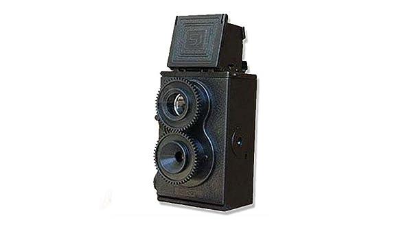 Cámara réflex de Doble Lente DIY TLR de 35 mm, cámara Vintage ...