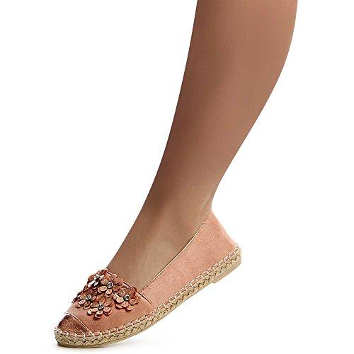 Ballerines Chaussures Rose Femmes Rose topschuhe24 Ballerines topschuhe24 Chaussures topschuhe24 Femmes RBq44U