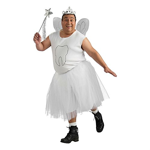 Unbranded* Tooth Fairy Costume Adult Funny Halloween Fancy Dress Most Viewed from Unbranded*