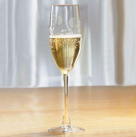 6179 - Princess House Set of 4 Champagne Glasses