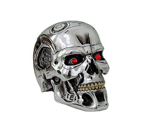 (Nemesis Now - Terminator 2 Judgment Day - T-800 head- NOW0949 - IN STOCK - New by Nemesis)