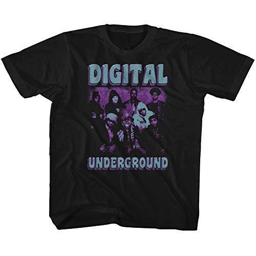 American Classics Digital Underground 1987 Hip Hop Group Funky Purple Black Toddler T-Shirt Tee by American Classics