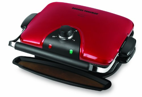 george-foreman-84-inch-removable-plate-grill-red