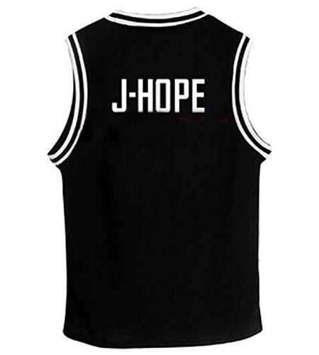 Kpop Bangtan Boy BTS Baseball UniforM Tank Top T-shirt Medium J-HOPE