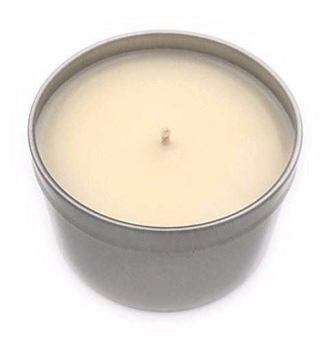 No Luxury Artisanal Soy Wax Candle Tin    Tin Wicks Candle Co 33 Netflix Chill    8oz    Highly Scented Candles    Handcrafted Soy Candles
