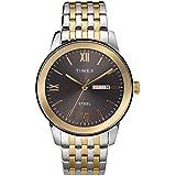 Timex Men's Dress Analog 41mm Stainless Steel Bracelet Watch