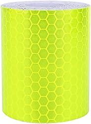 Cinta reflectante de PVC, cinta reflectante de advertencia de seguridad, rollo de cinta de advertencia de 300