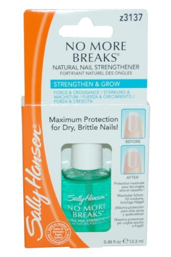 Amazon.com : Sally Hansen No More Breaks Natural Nail Strengthener ...