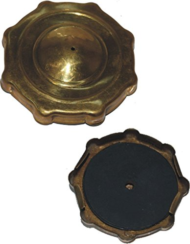 RS Vintage Parts RSV-B017BEMUAU-01323 Motorcycle Parts A19 Benelli Mojave Cafe Racer 260 360 Petrol Fuel Gas Tank Cap Push Type Brass