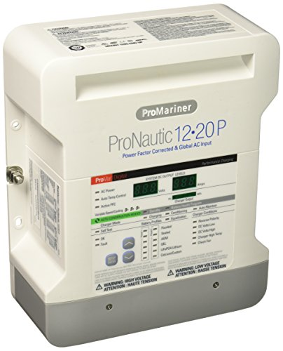 Promariner 63120 Pronauticp Series 1220P   12 Volt  20 Amp Battery Charger