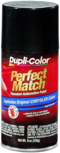Dupli-Color EBCC04277 Brilliant Black Pearl Chrysler Perfect Match Automotive Paint - 8 oz. (Pearl Paint Lacquer)