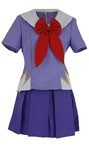 [Dillian The Future Diary Gasai Yuno Mirai nikki Top&Skirt Cosplay Costume,M] (Cat Costume Ideas Adults)