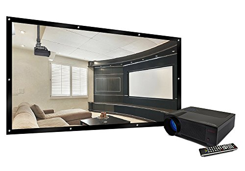 FAVI BLED4TPWM3HD100 LED LCD (720p) Projector with 100