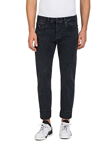 Noir Grover Slim 98 Replay black Denim Homme Jean x6qUw7R
