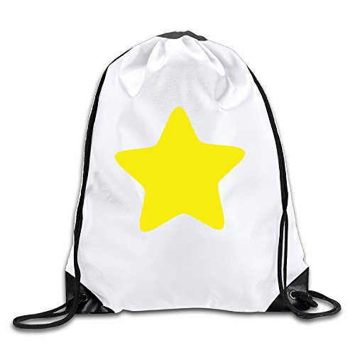 Star Awards Logo Crystal (BYDHX Steven Universe Yellow Star Logo Drawstring Backpack Bag White)