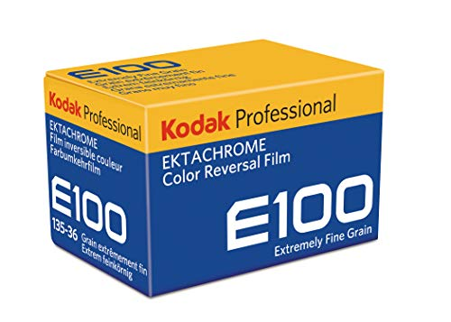 Kodak E100G Professional ISO 100, 35mm, 36 Exposures, Color Transparency Film