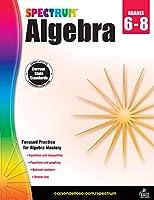 Carson-Dellosa Spectrum Algebra Workbook, Grades 6-8