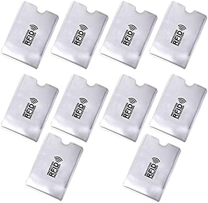 Reutilizable 10 Protectores De Bloqueo Para Prevenir RFID ...