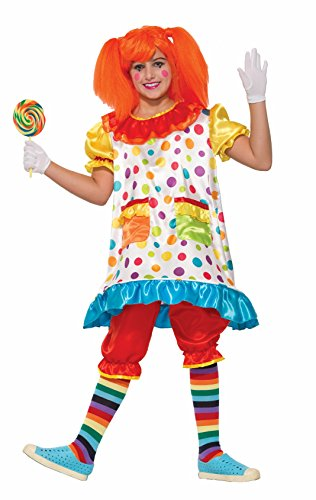 Forum Novelties Kids Wiggles The Clown Costume, Multicolor, -