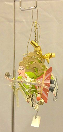 - Fanciful Flights Skater Ornament/mobile Karen Rossi By Silvestri Christmas Ornament
