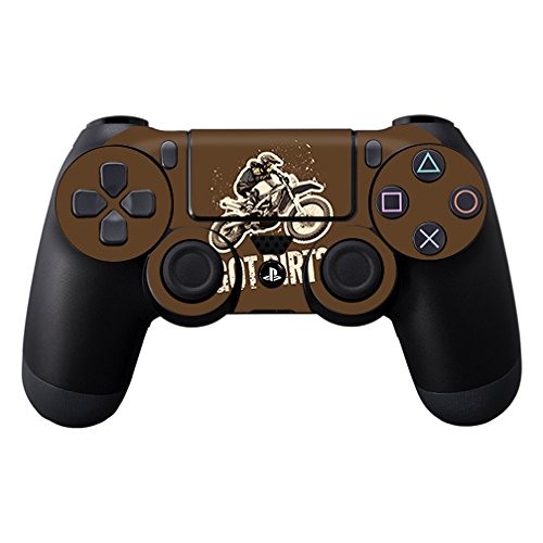 MightySkins Skin for Sony Playstation DualShock PS4 Controller – Got Dirt | Protective, Durable, and Unique Vinyl Decal wrap Cover | Easy to Apply, Remove, and Change Styles | Made in The USA (Graphic Dirt)