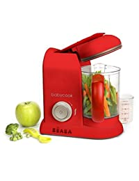 BEABA Babycook Pro Baby Food Maker in Red BOBEBE Online Baby Store From New York to Miami and Los Angeles