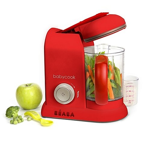 BEABA Babycook Pro Baby Food Maker in Red