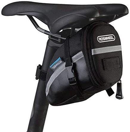 Deporte DirectTM Bicicleta Bicicleta Asiento Velcro Stash//equipaje de bolsa para sill/ín de bicicleta
