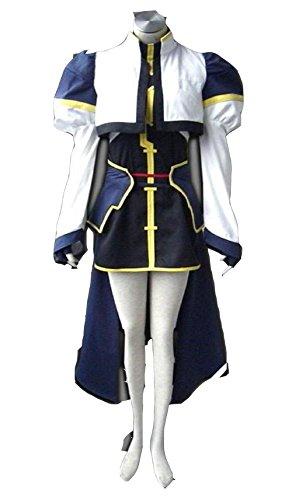 Nanoha Cosplay Costume (Costume for Cosplay of Yagami Hayate From Magical Lyrical Nanoha A's)
