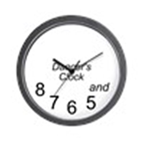 CafePress - Dancer's - Unique Decorative 10'' Wall Clock by CafePress