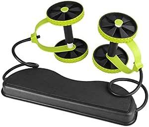 عجلة التبطين المتطاير الكل في واحد للعضلات الدوارة - نحت جسمك - شد مزدوج وعضلات المعدة