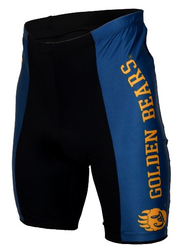 California Bears Short (NCAA Unisex Adult California Golden Bears Cycling Short (Large))
